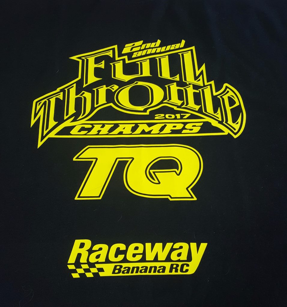 Top Qualifiers are getting Shirts this year! Made by the Drummonds with CDog Designs. Their name and class they TQ'ed will be on the back.